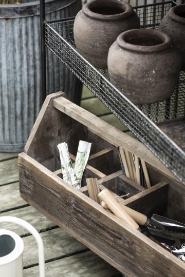 Holzwerkzeugkasten
