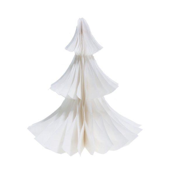 Weißer Papierweihnachtsbaum