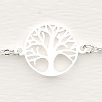 Armband - versilbert - Baum des Lebens HCA My Home and More