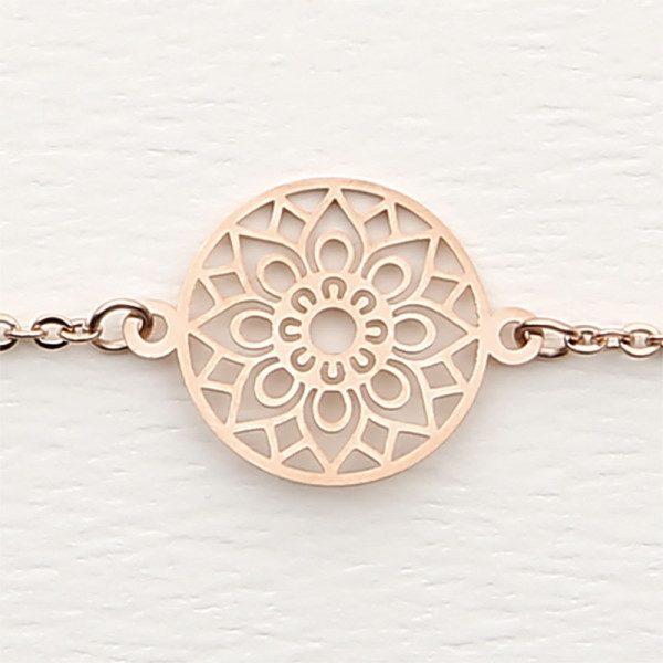 Armband - rosévergoldet - Mandala des Glücks HCA My Home and More