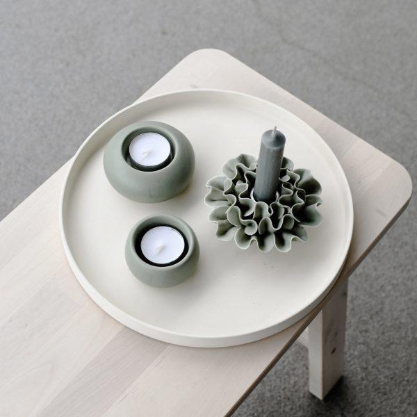 Sandviken Teelichthalter grün Storefactory My Home and More