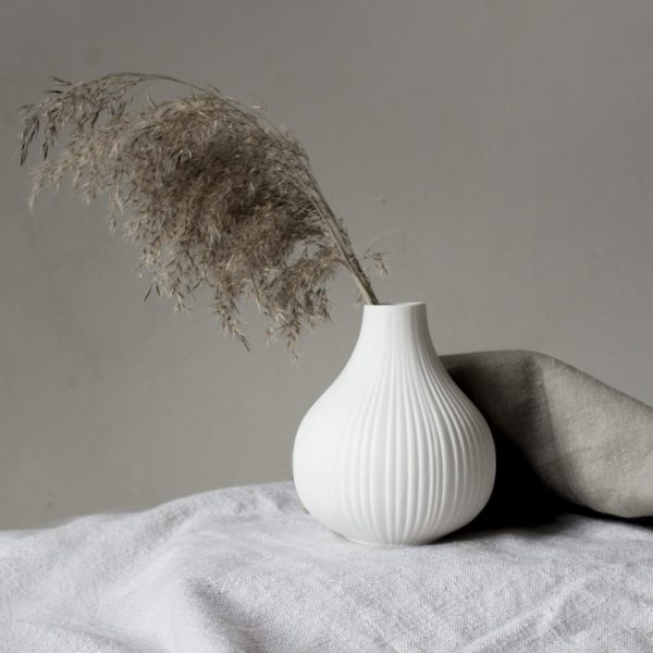 Ekenäs Vase weiß Storefactory My Home and More