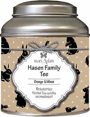 Hasen Family Tee Orange & Minze Kräutertee mariAdam My Home and More