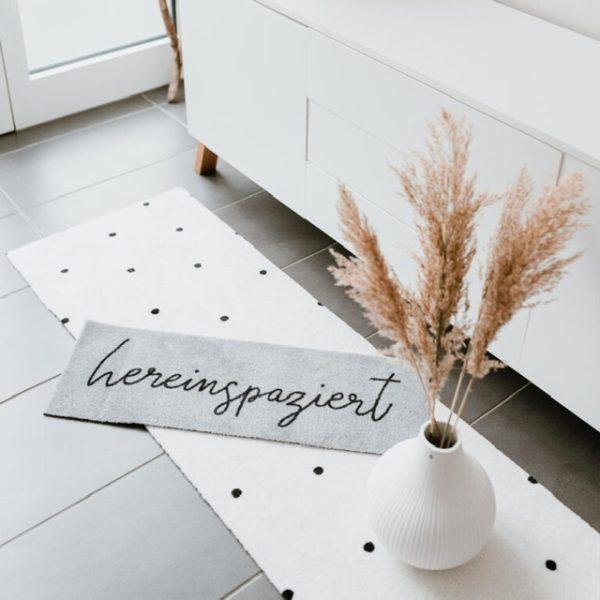Fußmatte klein 25x75 cm Eulenschnitt My Home and More