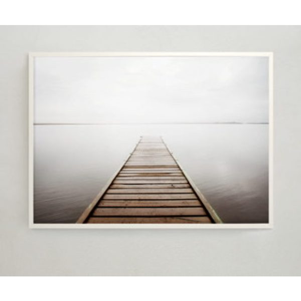 Misty Pier Poster 30x40 cm Storefactory My Home and More
