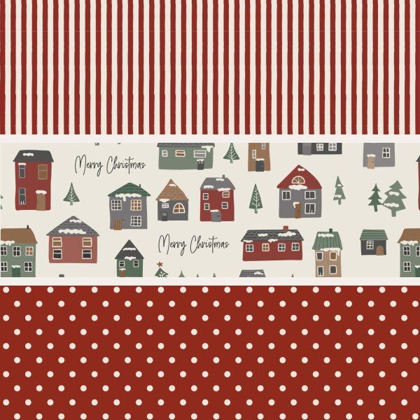 Geschenkpapier Rolle Weihnachten rot IB Laursen www.myhomeandmore.de