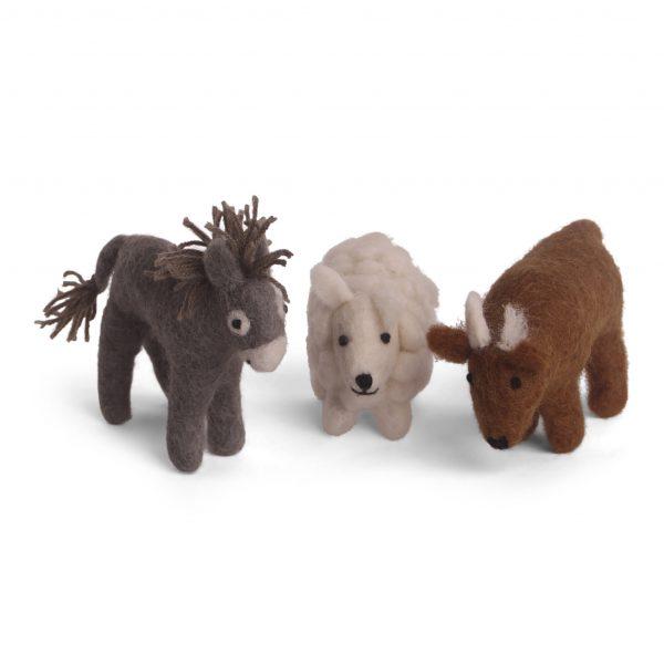Krippenspiel Esel, Schaf und Ochsel - EN GRY & SIF www.myhomeandmore.de