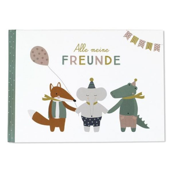 Alle meine Freunde Hardcover Buch A5 ava&yves www.myhomeandmore.de