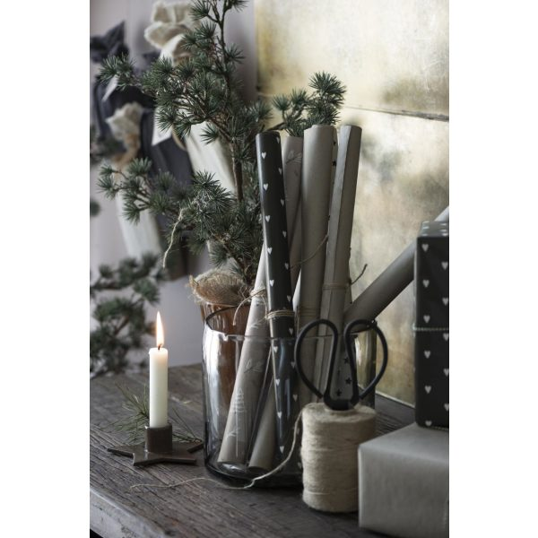 Geschenkpapier Rolle Weihnachten natur/grau IB Laursen www.myhomeandmore.de